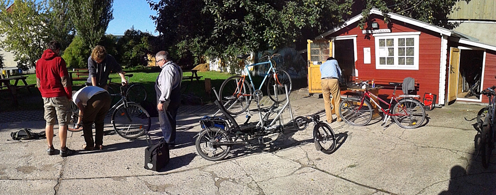 Fahrrad-Selbsthilfewerkstatt